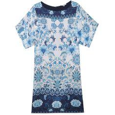 Vestido print azulejo
