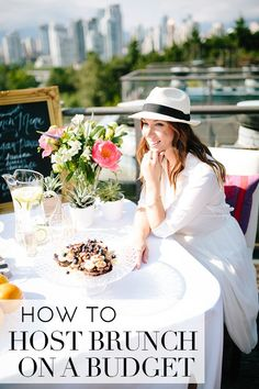How to host brunch on a budget