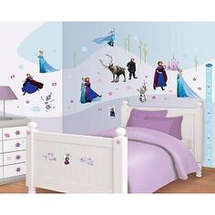 Muursticker Frozen Disney Decor Kit