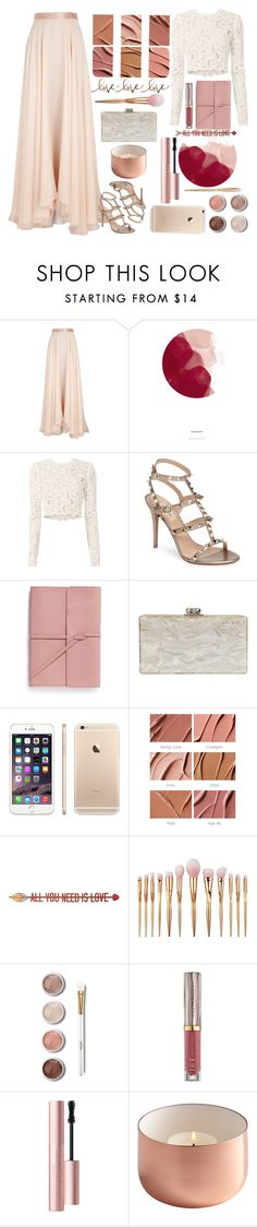 """""""My Love"""" by lavender53 ❤ liked on Polyvore featuring Lanvin, Holly's House, A.L.C., Valentino, Bynd Artisan, Edie Parker, MAC Cosmetics, Home Decorators Collection, Terre Mère and Urban Decay"""