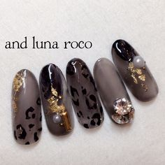 さとうえみ♡andlunaさんのネイル♪[1859355] ネイルブック Classy Nails, Simple Nails, Colorful Nail Designs, Nail Art Designs, Crazy Nail Art, Animal Nail Art, Japanese Nail Art, Nail Art Videos, Manicure E Pedicure