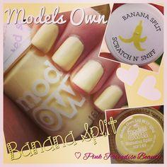 Models Own Scented Nail Polish in Banana Split