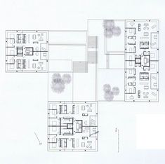 PHILIP BRÜHWILER | Zug Housing | Architecture | Collective housing | Apartment building | Floor plan