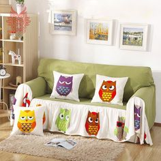 Free shipping Home textile modern style cartoon print 100%cotton canvas Sofa cover slipcovers 190*260cm Sofa towel SP1936. Yesterday's price: US $68.00 (55.96 EUR). Today's price: US $68.00 (55.83 EUR). Discount: 50%.