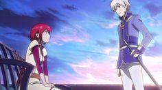 Akagami no Shirayukihime - Zen X Shirayuki OTP MAN! This episode was SO PRECIOUS AND SPARKLY!!! I DEMAND A THIRD SEASON ;-; it was so beautiful. Definitely my fav romance anime! Mitsuhude, Kiki, Obi, Shirayuki, and Zen!