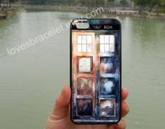 Protective Doctor Who Watercolor Tardis,iPhone 5s case,iPhone 5c case,Samsung Galaxy S3 S4 Case,iPhone 4 Case,iPhone 5 Case,iPhone case