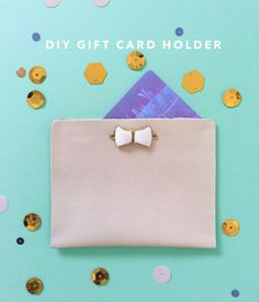 DIY Gift Card Holder made of one piece of leather, natural leather cord and one bead. So easy to make and beautiful results. Diy Leather Goods, Leather Cord, Diy And Crafts, Crafts For Kids, Modern Crafts, Rainy Day Crafts, Gifts For Your Mom, Decorating Blogs, Shopping Hacks