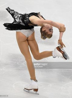 Has touched Figure skater ass
