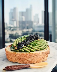 Try ROE Caviar on avocado toast for a supremely nutritious breakfast. Just a tablespoon of caviar includes Omega-3's healthy fatty acids protein and vitamins A B12 and D.
