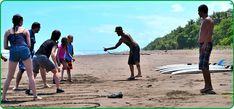 Costa Rica Surfing School & Vacations at Green Iguana Surf Camp