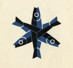 Mark (logo) by German designer O.H.W.Hadank
