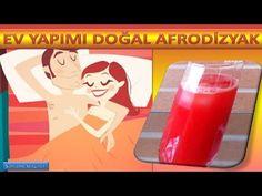 Ev yapımı doğal Afrodizyak / Home-made natural aphrodisiac Şifalı Kür Tarifleri Homemade, Drinks, Nature, Youtube, Drinking, Beverages, Naturaleza, Home Made, Drink