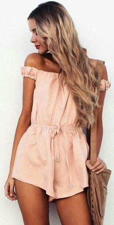 Very cute romper.