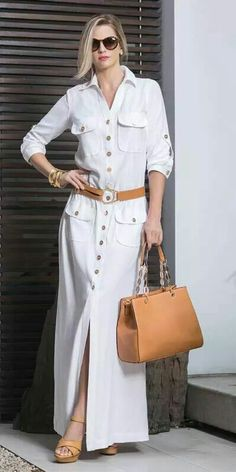 Fashion shirt dresses - Patterns and molds – Outfit Fashion - Best Fashion, Outfits & Trends Ideas Modest Fashion, Hijab Fashion, Fashion Dresses, Fashion Clothes, Mode Abaya, Mode Hijab, Beauty And Fashion, Womens Fashion, Shirt Dress Pattern