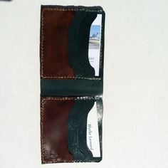 Men's Wallets Handmade, Made in USA, Made in NC, available at www.BlytheLeonard.com