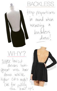 Fashion Friday ♥ ♥ ♥ Backless Dress ♥ ♥ ♥