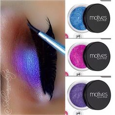 Sweet & Shimmer (Paint Pot Mineral Eye If You Dare, Mesmerize and Glamour by Motives Cosmetics)