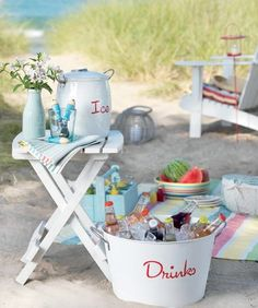 picnic at the beach~ coastal.