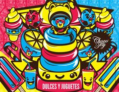 Productos by ChocoToy , via Behance