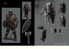 Dark Souls - The Characters of Dark Souls II. Character Concept, Character Design, Fashion Souls, Concept Art World, My Fantasy World, School Of Visual Arts, Bloodborne, Soul Art, Art Poses