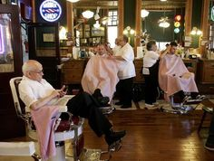 Barber Shop Grapevine : Main Street Barber Shop family offers more than a century of cuts and ...
