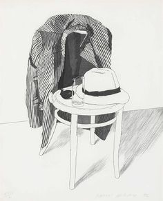 David Hockney - drawing style is also cool