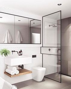Monochrome Styles Bathroom