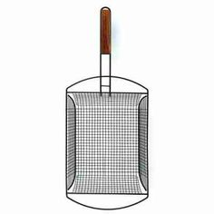 Charcoal Companions Non-Stick Shaker Basket w/Removable Handle - Availability: in stock - Price: £13.50