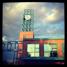 Clock tower - Binghamton university