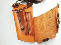 Unique design Scissor Case/Handmade Leather Shear door whatthefunk