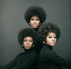 The Supremes 1970s - Mary Wilson, Jean Terrell and Cindy Birdsong