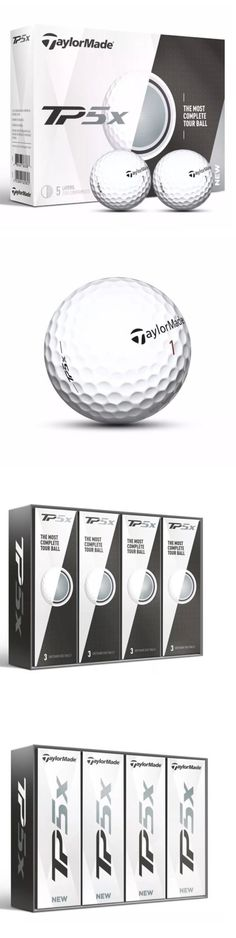 Golf Balls 18924: New 2017 Taylormade Tp5x Golf Balls 1 Dozen -> BUY IT NOW ONLY: $45.99 on eBay!