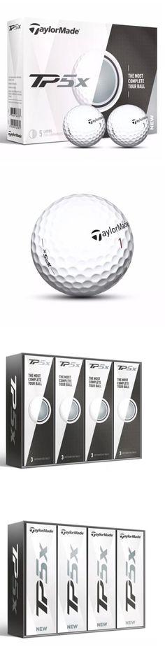 Golf Balls 18924: New 2017 Taylormade Tp5x Golf Balls 1 Dozen -> BUY IT NOW ONLY: $45.99 on eBay!