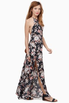 Falling Into Floral Dress