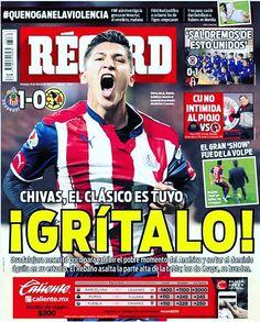 #Chivas, el Clásico es tuyo...¡Grítalo! El Rebaño dominó y exhibió a las Águilas en casa  #hoyentuRÉCORD #Portada
