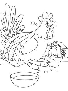 Do not disturb, Rooster having food coloring pages Food Coloring Pages, Coloring Pages For Kids, Car Drawings, Disney Drawings, Simple Car Drawing, Towel Crafts, Alphabet Activities, Pattern Drawing, Animals For Kids