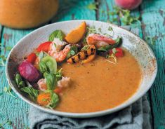 Yskoue perske-somersop | rooi rose Thai Red Curry, Appetizers, Vegan, Ethnic Recipes, Soups, Beer, Entertaining, Warm, Drink