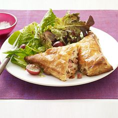 Ham, Turkey, and Cheese Turnover #myplate #protein #grains #dairy