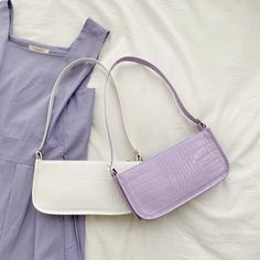 Image in (aes)fashion collection by Sad Babies Fashion Handbags, Purses And Handbags, Fashion Bags, Girl Fashion, Trendy Purses, Cute Purses, Lavender Aesthetic, Purple Aesthetic, Vintage Bags
