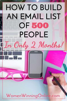 Ready to grow your blog email list and get more subscribers? Click to find out how I grew my blog email list to 500 people in only 2 months!