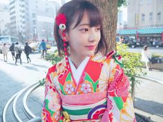 Miyawaki sakura her kimono Yuri, Cute Girls, Cool Girl, Sakura Miyawaki, Japanese Girl Group, Kim Min, Miyazaki, Ulzzang Girl