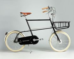 Espresso is a compact urban bicycle designed for Asian cities