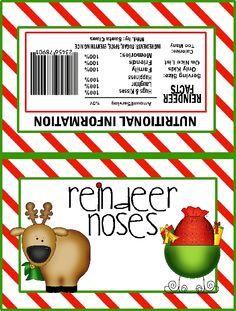 reindeer noses   Chocolate Bar)