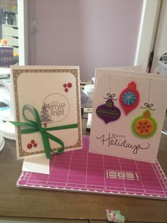 Handmade cards by me!!!