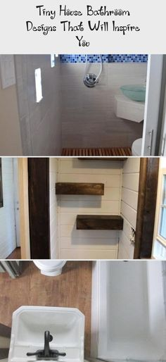 Tiny House Bathroom Designs That Will Inspire You #Supertinybathroom #tinybathroomUnderStairs #tinybathroomHalf #tinybathroomRental #tinybathroomRemodel