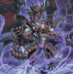 Darkest Diabolos, Lord of the Lair by Yugi-Master on DeviantArt Dark Fantasy Art, Yugioh Dragons, Chaos Dragon, Yugioh Monsters, Star Wars Spaceships, Beast Creature, Art Carte, Monster Cards, Dragon Artwork