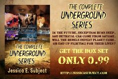It's release day for The Underground #boxset. Get all three #GLBT #dystopian romance stories for #99cents!