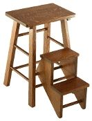 Amish Handcrafted Folding Step Stool