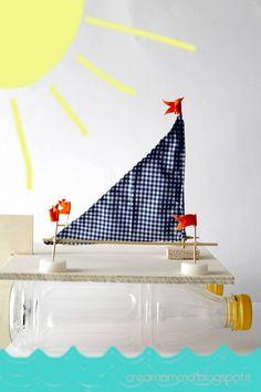 Diario di una Creamamma: Catamarano fai da te