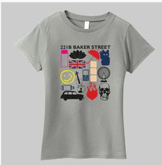 SHERLOCK FAVOURITE MOMENTS Women's Fitted by CharmingFanDesigns, $18.99 on esty.com